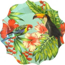 Birds In Paradise Plates
