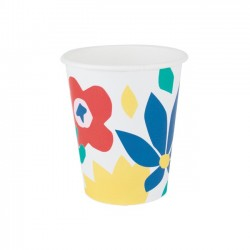 Tropical Floral Cups