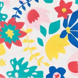 Tropical Floral Napkins