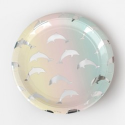 Dolphin Party Plates