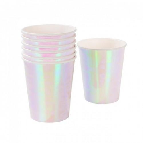 We Heart Iridescent Cups