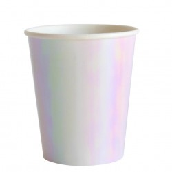 We Heart Iridescent Cups