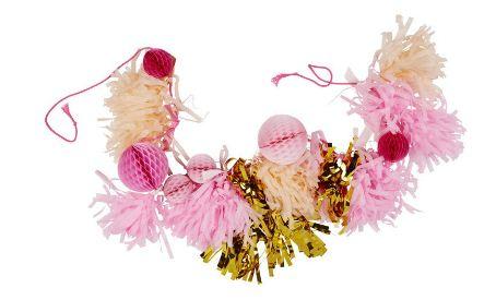 Pink Shimmer DIY Tassel Garland Kit