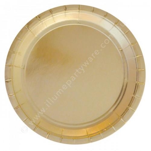 Gold Foil  Plates