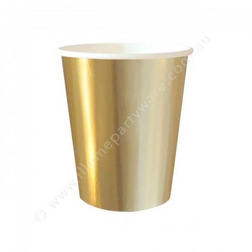 Gold Foil Cups