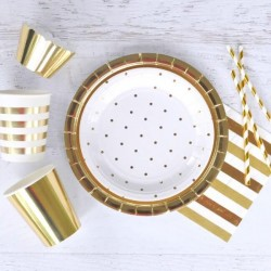 Gold Foil Cupcake Wrappers