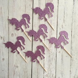 Unicorn Cupcake Toppers