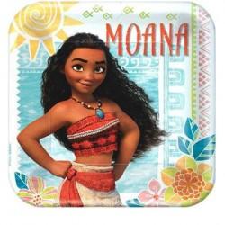 Disney Moana Plates