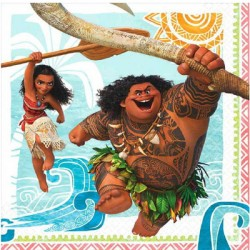 Disney Moana Lunch Napkins