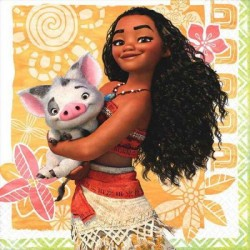 Disney Moana Beverage Napkins