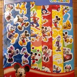 Mickey's Clubhouse Sticker Fun Sheet