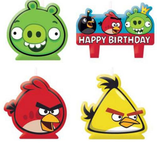 Angry Birds Candles
