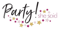 Party! She Said Logo